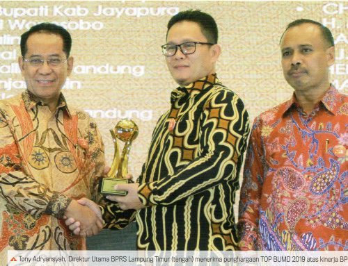 BPRS Lampung Timur Raih TOP BUMD 2019